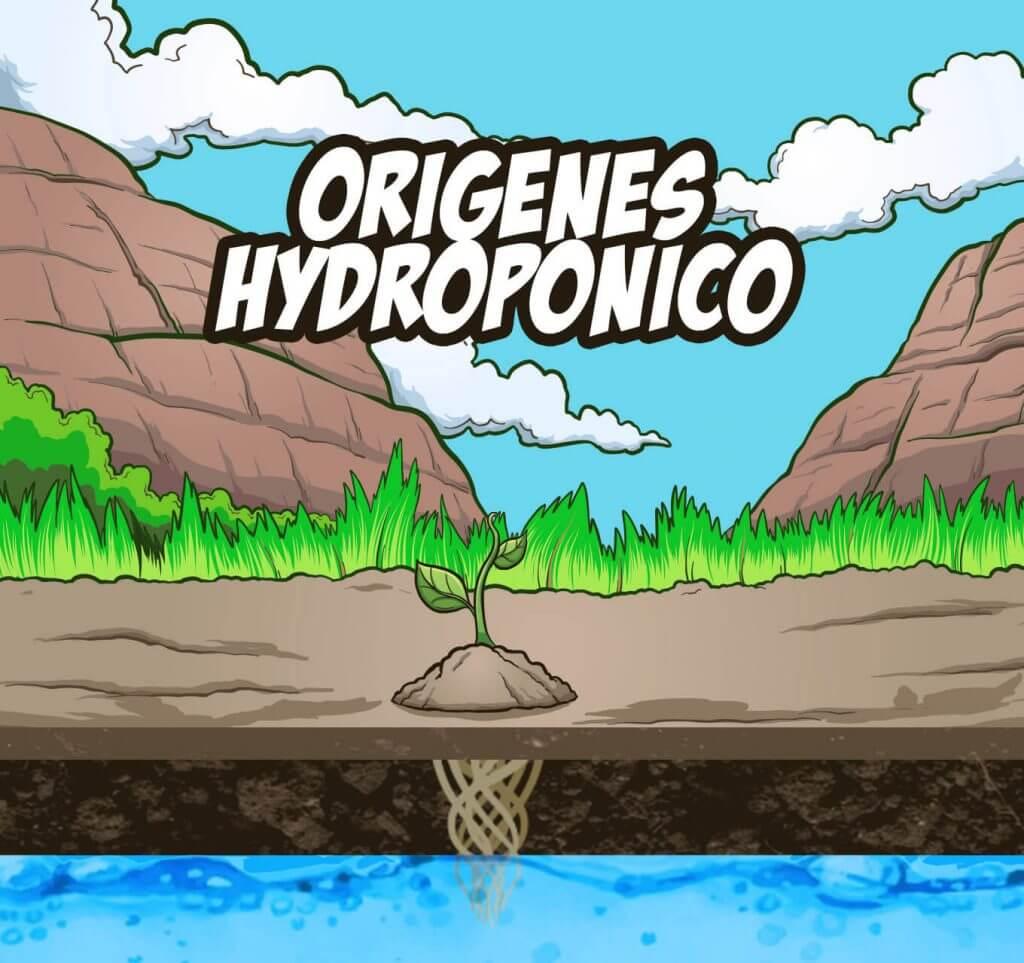 orígenes del cultivo hidropónico