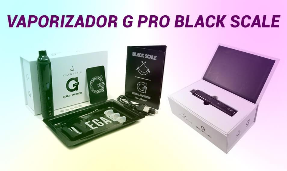 Vaporizador G Pro Black Scale