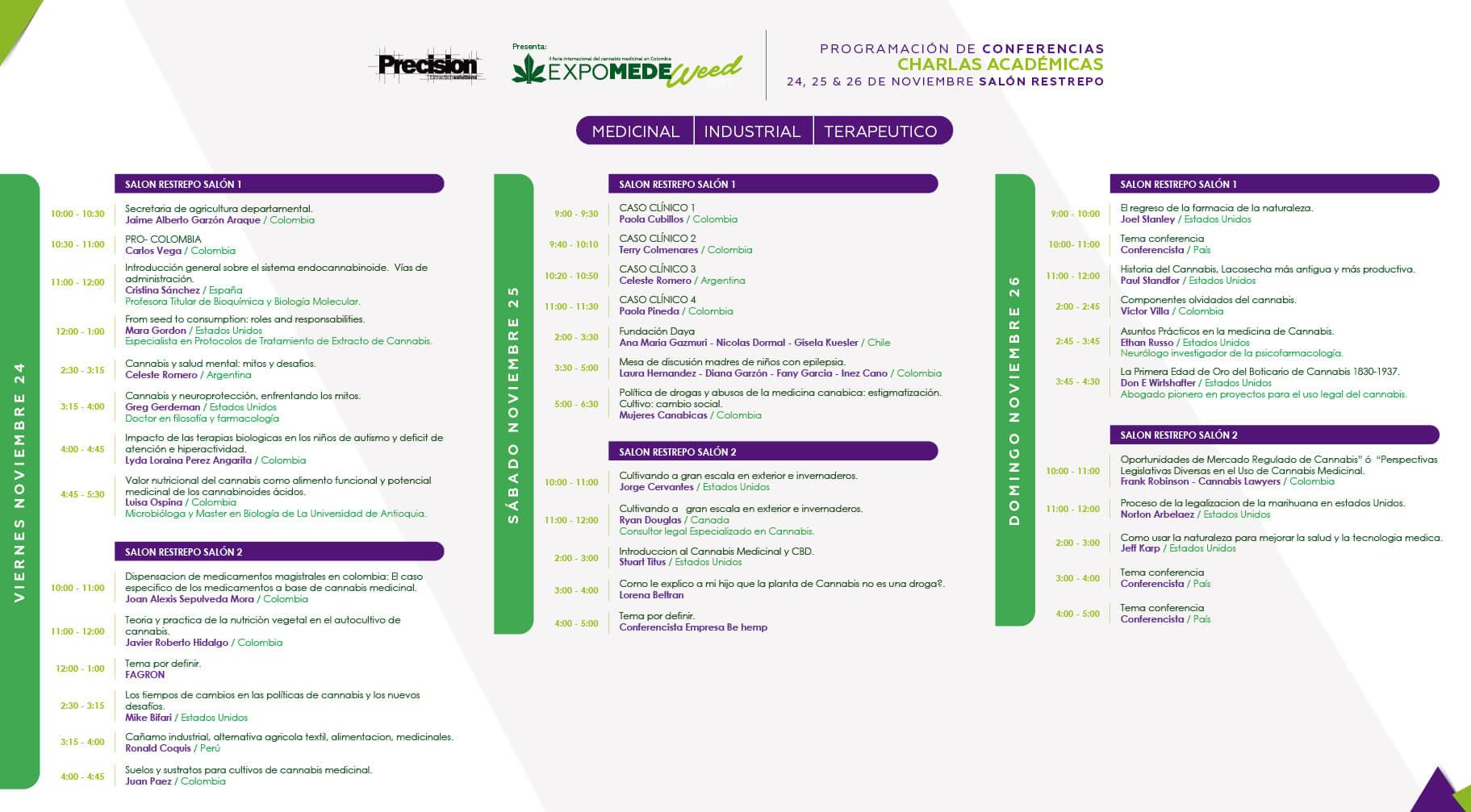 Programa charlas