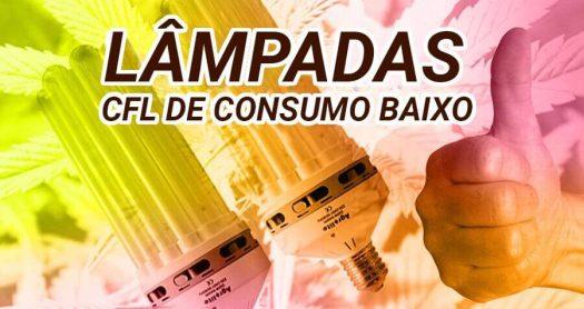 Lampadas CFL de consumo bajo