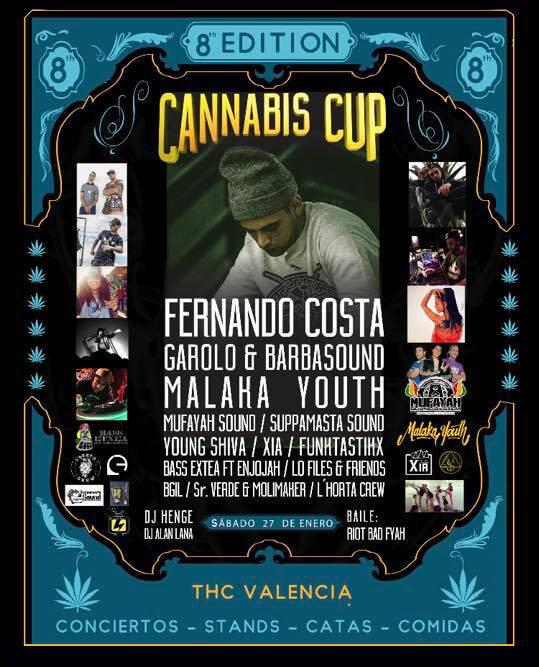 conciertos cannabis cup