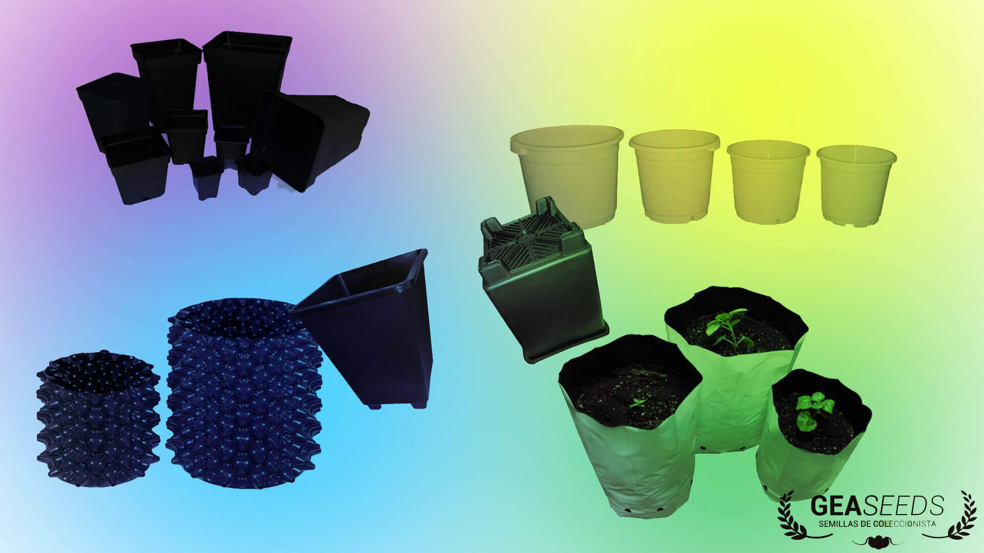 Pot Plastique Grande Taille pots pour cultiver la marijuana: types et tailles