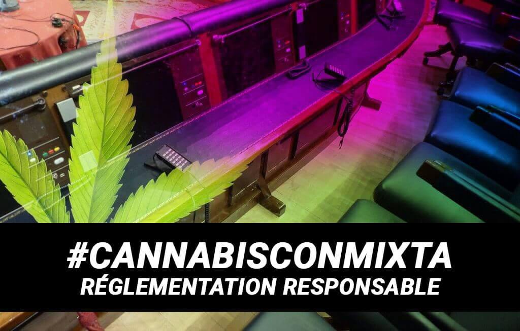 #CannabisConMixta