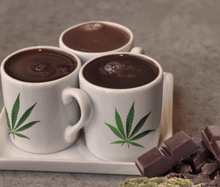 THE CHOCOLATE CUP WITH MARIJUANA – CANNABICA RECIPE.
