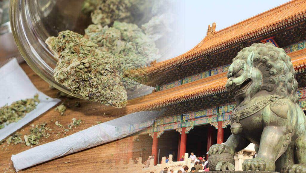China y marihuana
