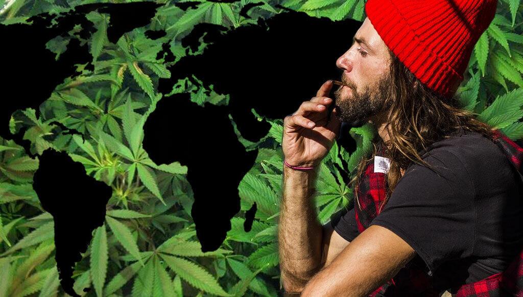 Marihuana por el mundo