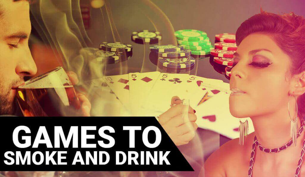 smoking and drinking games