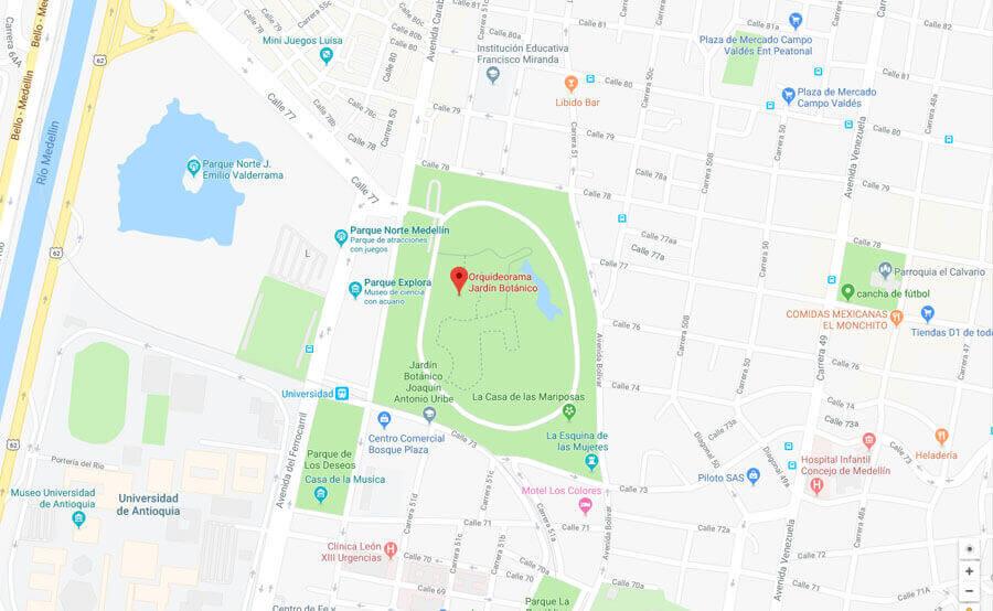 Mapa expomedeweed