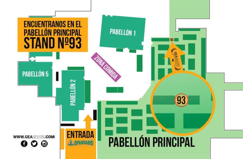 Mapa Spannabis Barcelona