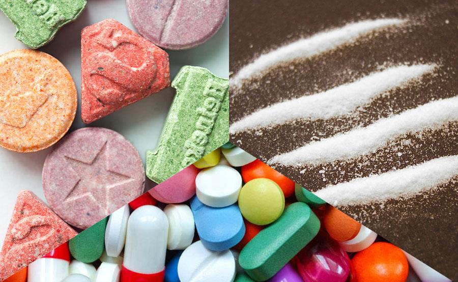 coacin amphetamine mdma