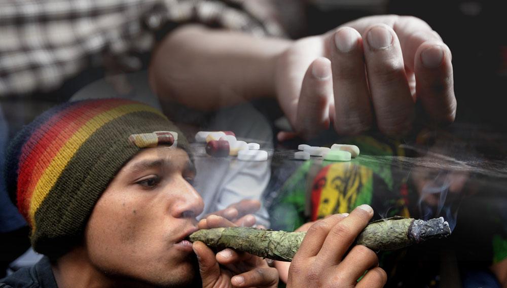 sobredosis y fumar