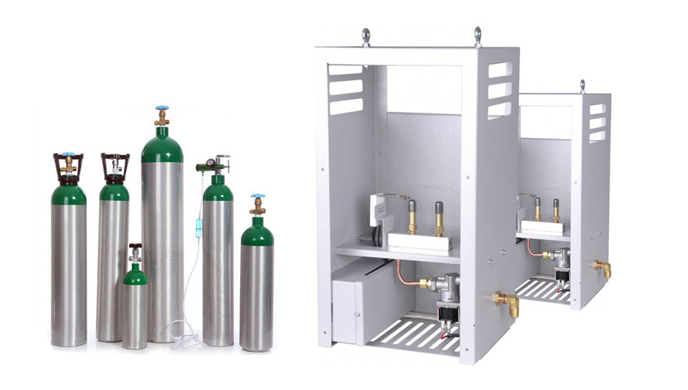 co2 tank and generator