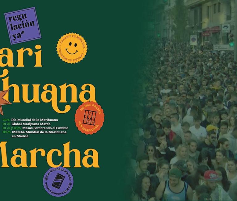 #MarihuanaEnMarcha, La Marcha de la Marihuana (2021)